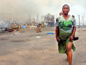 Congo slum
